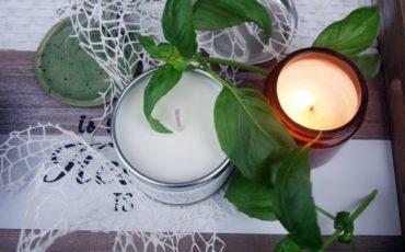Sojowe świece zapachowe