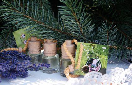 Dziki las w samochodzie – leśny Wild Pine