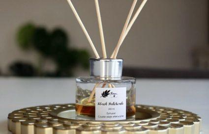 Dyfuzor o zapachu paczuli czekolady i ambry- uczta dla zmysłów