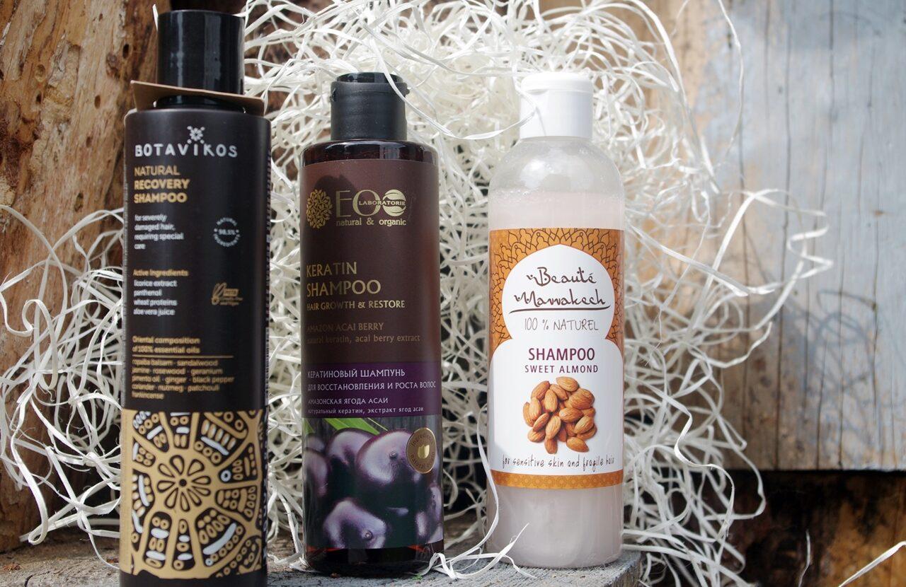 Naturalne szampony do włosów przetłuszczających się  kontra silne detergenty.